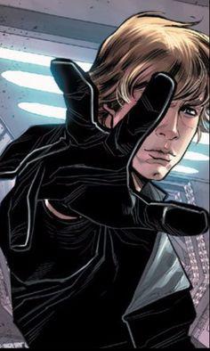 My Luke Skywalker. #starwars #badass