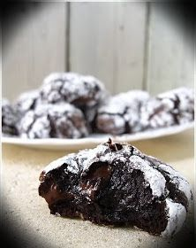 Remember when we lived in that castle ...?: Why Not?: Flourless Triple Chocolate Cookies.