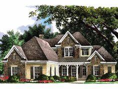 Eplans Cottage House Plan   Four Bedroom Cottage   Square    Eplans Cottage House Plan   French Country Cottage   Square Feet and Bedrooms from Eplans   House Plan Code HWEPL