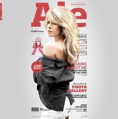 Alessia Marcuzzi Official Website http://www.alessiamarcuzzi.com/it/#!/home    #Design #WebDesign
