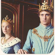 King Edward IV of England and Queen Elizabeth in #thewhitequeen