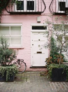 Notting Hill, London. Colorful.