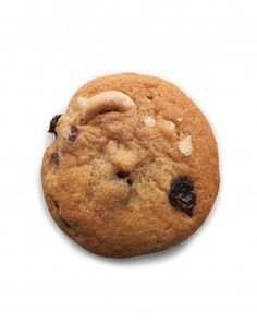 Rum-Raisin and Cashew Drop Cookies Recipe