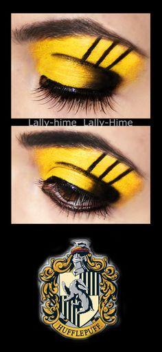 For the girly Hogwarts girl: Hufflepuff eyeshadow.
