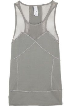 Adidas by Stella McCartney Run Climalite® stretch-jersey tank | NET-A-PORTER