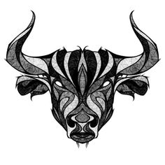 This tattoo has unique drawings of head of a Taurus bull and makes it look cool. This tattoo has unique drawings of head of a Taurus bull and makes it look cool. Ox Tattoo, Head Tattoos, Helmet Tattoo, Power Tattoo, Gray Tattoo, Small Tattoos, Zodiac Art, Zodiac Signs, Toros Tattoo