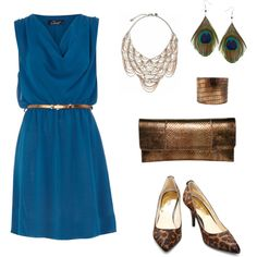 blue nile, created by #bellaviephotography on #polyvore. #fashion #style Dorothy Perkins Michael Kors