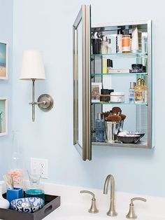 bathroom refreshes medicine cabinet
