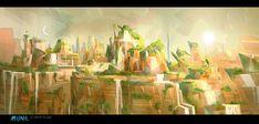 Artes de Alexis Liddell para o filme Mune, da Onyx Films | THECAB - The Concept Art Blog
