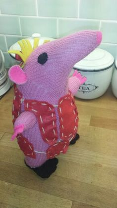 Clanger made for my little sis' (she's in her 40's)