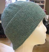 34f6539af8a Knitting Patterns Galore - Basic Hemmed Hat Crochet Tools