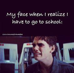 Very true, especially next school year. I WILL BE A HIGH SCHOOL FRESHMAN! Once again Dallas Winston has summarized my life