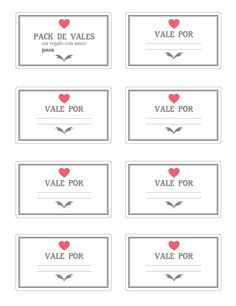 milowcostblog: Imprimible: vales para san valentín