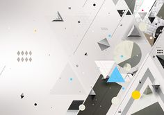 Geometrics by Piotr Em, via Behance