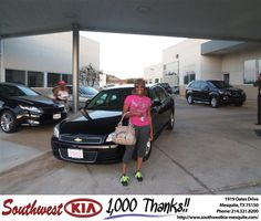 #HappyAnniversary to Ray Chappelle on your 2009 #Chevrolet #Impala from Everyone at Southwest Kia Mesquite!