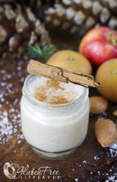 Cold but Warming Christmas Mulled Apple Smoothie to please the palate and soothe the body! (a powerful antioxidant, anti-flatulant, blood sugar regulant) #glutenfree #dairyfree #smoothie #christmas #dairyfree #sugarfree #health #fitness #paleo