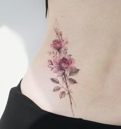 Flower Tattoo by 타투이스트. 타투이스트 꽃 artist works on women's tattoos and works exclusively for women. Continue Reading and for more Flower Tattoo designs → View Website Flower Wrist Tattoos, Flower Tattoo Designs, Forearm Tattoos, Rose Tattoos, Sexy Tattoos, Body Art Tattoos, Tattoos For Women, Flower Tattoo Sleeves, Tatoos