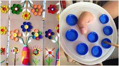 Descubre 12 Ideas Maravillosas Que Puedes Hacer Con Tapitas De Plástico Make And Sell, How To Make, Bottle Bag, Art Party, Plastic Bottles, Art School, Handicraft, 3 D, Crafts For Kids