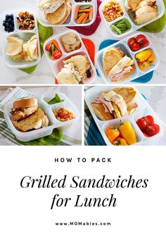 Everything you need to know to make the perfect grilled cheese sandwich and pack it for lunch, plus a Grilled Chicken & Cheese sandwich to get you started. #grilledcheese #lunches #lunchbox Sandwiches For Lunch, Delicious Sandwiches, Family Meals, Kids Meals, Easy Meals, Easy Lunch Boxes, Lunch Ideas, Lunch Snacks, Box Lunches