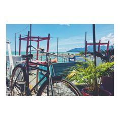 自転車漕ぎながらポケモンGOしたい気分 今日も天気は良好です サイクリングしながらポケモンGOしたいですが  ここはマレーシアのランカウイ島 ポケモンは生息していないようです(-; )  #世界周遊 #海外移住 #マレーシア #マレーシア生活 #マレーシアライフ #ポケモンGO #サイクリング #サイクリング日和 #サイクリング仲間募集 #サイクリングデート #サイクリングロード #サイクリング仲間募集中 #サイクリング女子 #サイクリング部