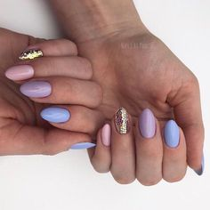 April nails, Cute colorful nails, Light spring nails, Nails for spring dress, Spring nail art, Spring nail ideas, Spring nails 2018, Spring nails by gel polish