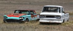 Corvair and T-bird