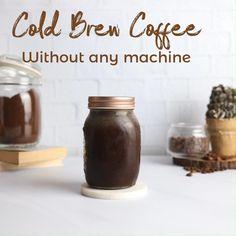 Cold Brew Coffee Recipe Starbucks, Homemade Cold Brew Coffee, Cold Brew Iced Coffee, Making Cold Brew Coffee, Coffee Drink Recipes, Coffee Menu, Best Iced Mocha Recipe, Cappuccino Recipe, Fun Baking Recipes