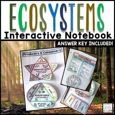 This product contains interactive cut and paste learning material for students to create an organized earth science interactive notebook. You may want to check out the complete Earth Science BUNDLE! 6th Grade Science, Science Curriculum, Science Lessons, Teaching Science, Science Education, Life Science, Physical Science, Science Classroom, Science Experiments