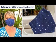 Easy Face Masks, Diy Face Mask, Masked Man, Couture Sewing, Diy Home Crafts, Diy Mask, Fashion Face Mask, Youtube, Sewing Projects