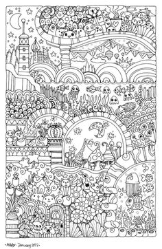The Best Coloring Books for Adults - Mandalas, Florals, and Messages. Printable Adult Coloring Pages, Cute Coloring Pages, Doodle Coloring, Coloring Pages To Print, Mandala Coloring, Coloring For Kids, Coloring Sheets, Coloring Books, Free Coloring