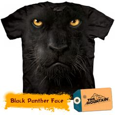 Tricouri The Mountain – Tricou Black Panther Face Black Panther Face, Big Face, Mountain, T Shirt, Poster, 3d, Style, Supreme T Shirt, Swag