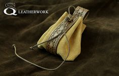 leather pouch by SqLeatherwork on DeviantArt
