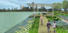 Singapore Waterfront Competition : Information from Gustafson Porter