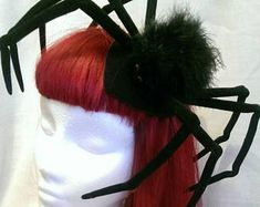 Halloween Spider Decorations, Spider Costume, Corpse Bride, Costumes For Women, Masquerade, Wig Hairstyles, Wigs, Horror, Velvet