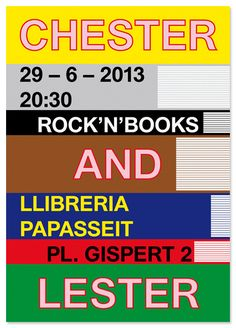 Llibreria Papasseit poster.