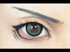 ▶ Tutorial : Anime Eye Makeup 46 - YouTube