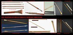 Le frecce differivano sia da posto a posto, sia per l'uso a cui erano destinate, ad esempio per la caccia ai volatili o piccoli mammiferi come gli scoiattoli, si usavano frecce contundenti senza punta.