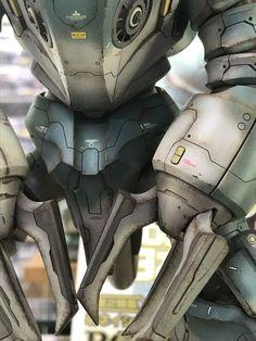 Gunpla Custom, Gundam Model, Character Modeling, Model Building, Traditional Art, Scale Models, Troops, Robot, Action Figures