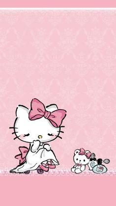 Hello kitty pretty lady