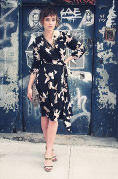 cool dress! likey!....The Glamourai