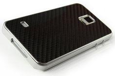 Original UrCover® Echt Carbon Aluminium Schutz Hülle für das Samsung Galaxy S5 Case Cover Bumper Alu Rahmen Tasche Schwarz / Silber Silver 49,90€