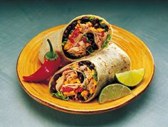 Mexican Tuna Wrap - Tuna Recipes - Clover Leaf Canada