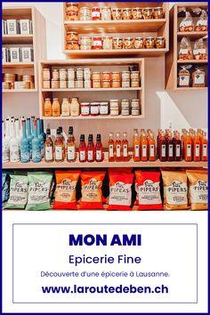 Mon Ami est une épicerie fine situéé à Lausanne proposant un assortiment de produits fins et gourmands. #lausanne #suisse #finefood #epicerie Lausanne, Murs Clairs, Restaurant, Liquor Cabinet, Small Shops, Switzerland, Amigos, Fine Dining, Greedy People