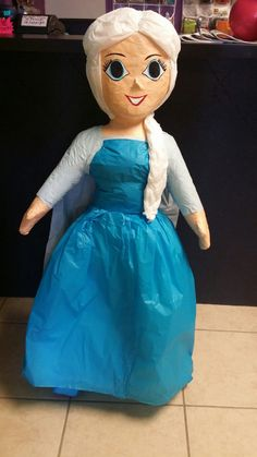 Disney Frozen Anna or Elsa Pinata on Etsy, $45.00