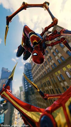 Spiderman PS4 / Iron Spider Marvel Films, Marvel Comic Universe, Marvel Heroes, Marvel Cinematic, Marvel Avengers, Spiderman Ps4 Wallpaper, Marvel Wallpaper, Spiderman Anime, Amazing Spiderman