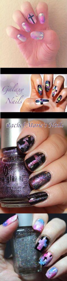 Galaxy Effect Nails ✨