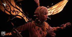 ArtStation - Paragon - Fireoak Fey, Eric Terry