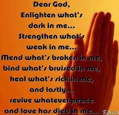 Prayer for clarity and inner peace