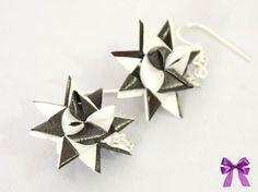 Ohrringe Stern von Manus Geschenkekiste auf DaWanda.com