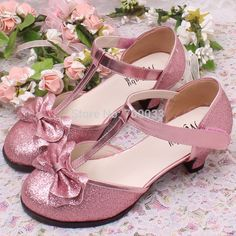Lovely Shining Children Girls High Heel Shoes Kids Wedding Shoes Best Gift  For Your Princess-in Leather Shoes from Mother   Kids on Aliexpress.com  bbbf337489c1
